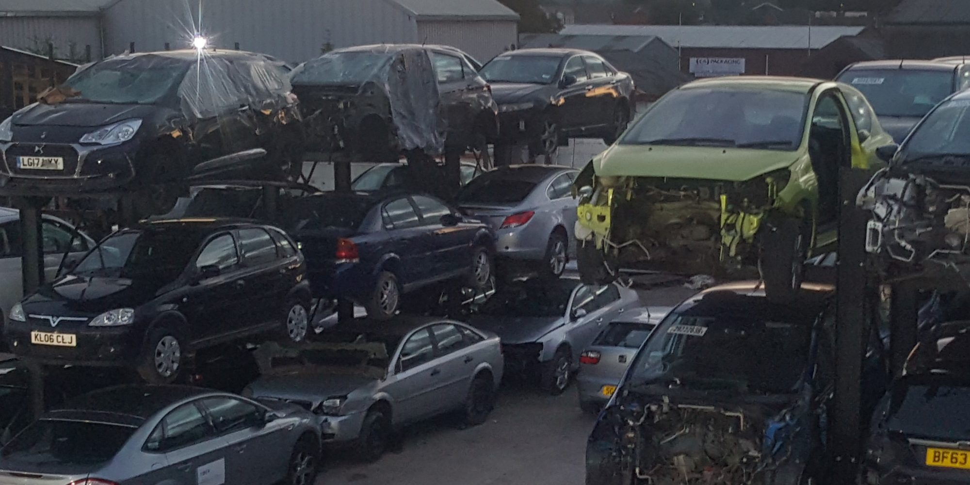 Quality used car parts