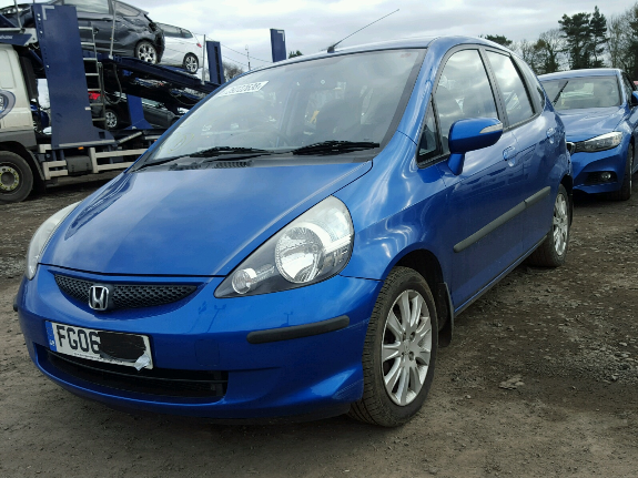 Honda Jazz Breaking